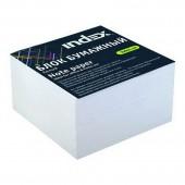Блок для записей Index, белый, офсет 80 г