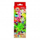 Карандаши цветные 18цв, Koh-I-Noor, Сафари, в картонной упаковке с европодвесом