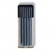 Грифели для циркуля, твердость B, 5 шт. в пластиковом футляре