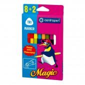 Набор перекрашивающих Фломастеров Магик, 8+2, упаковка с европодвесом