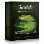 Чай зеленый Greenfield Flying Dragon, 100пак/уп., ст.9