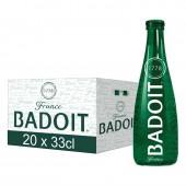 """Вода минеральная """"Badoit"""" слабая газация 0,33л., арт.423390,368367 ст.20"""