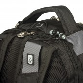 Рюкзак дорожный Wenger Zoom цв. черный/серый. полиэстер 900D