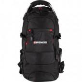 Рюкзак дорожный Wenger Narrow Hiking Pack цв. чёрный, полиэстер 900D