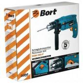 Дрель электрическая Bort bsm-500-P 500Вт, звп-13мм, реверс (93729080)