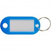 Брелоки для ключей 10шт/уп, синие, ст.1