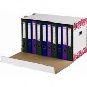 Короб архивный Attache Selection гофрокартон белый 536х335х303 мм
