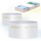 Кольцо бандерольное номинал 100 евро, 500 шт/уп