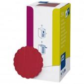 Подставка бумажная Tork 474469 д9, 8сл.бордо 250шт./уп.