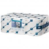 """Полотенца бумажные для держателей """"Тоrk"""" Reflex"""", 1-слойные, белые,  с центр.вытяжкой, 6рул./уп, 473412"""
