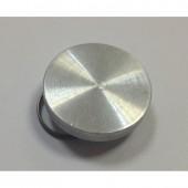 Плашка металлическая, диаметр 24мм, дюраль