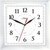 Часы Apeyron pl 02.001 белые, квадратные, пластик