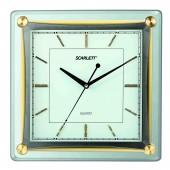 Часы настенные Scarlett SC-55GA, квадратные
