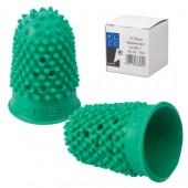 Напалечник для бумаг Alco 764 d=16мм h=27мм зеленый резина