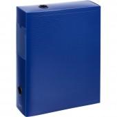 """Папка-короб архивный  70мм, """"Attache"""", пластик, синий,"""