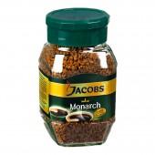 Кофе растворимый Jacobs Monarch, 47,5 г, стекл.банка, ст.12