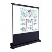 Мобильный проекционный экран Magnetoplan,1200х1600мм,