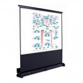 Мобильный проекционный экран Magnetoplan,1350х1800мм,