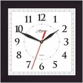 Часы Apeyron PL 02.002 чёрные, квадратные, пластик