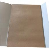 Папка для рисования А4, 40л, блок крафт 140г/м2, 05572