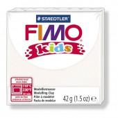 Глина полимерная белая, 42г, Fimo, kids, 8030-0