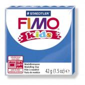 Глина полимерная синяя, 42гр, Fimo, kids, 8030-3