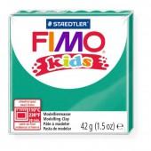 Глина полимерная зеленая, 42гр, Fimo, kids, 8030-5