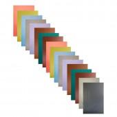 Бумага цветная А4, набор 18л, 10цв, Апплика, мелованная, 50г, скрепка, +зол, серебр, обл. 3 дизайна