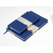 Ежедневник н/дат. А5, Br.V. Megapol, синий, 143х216, 136л