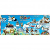 Карта мира для детей Настольная