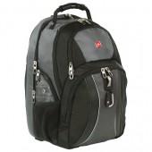 Рюкзак дорожный Wenger цв. серый/черный, полиэстер 900D, 340х230х470мм