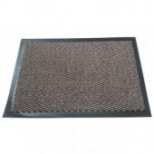 Ковер входной грязезащитный ворсовый на Пвх основе (900х1500мм,коричневый)