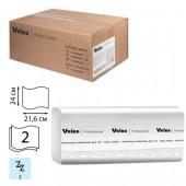 """Полотенца бумажные для держателей """"Veiro"""" F2 Comf 2сл.200л/пач 21пач/упак, Z-слож. kz202"""