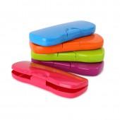 Пенал Стамм пластик., цвета в ассорт, пн62