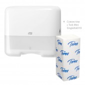 Полотенца бумажные для держателей Терес Стандарт 200л/пач 20пач/упак, V-слож.Т-0201