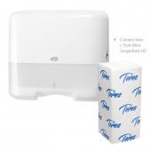 Полотенца бумажные для держателей Терес Комфорт 200л/пач 20пач/упак, V-слож.Т-0221