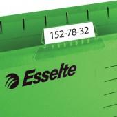 Подвесная папка Esselte Pendaflex Plus Foolscap, зеленый, цена за 1шт