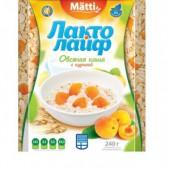 Каша овсяная Лактолайф с Курагой 6шт*40г