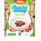 Каша овсяная Лактолайф Лесные ягоды 6шт*40г