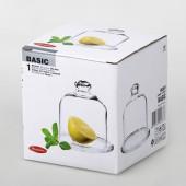 Блюдо для лимона с крышкой Basic d=100 мм.98397B