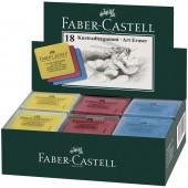 Ластик-клячка Faber-Castell цвета в ассорт. 127321