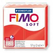 Глина полимерная индийский красный,57гр,запек в печке,Fimo,soft,8020-24