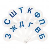 Веер-касса парные согласные буквы вк03