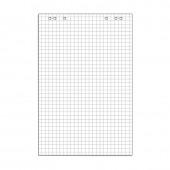 Блок бумаги для флипчартов клетка 67,5х98 10 лист. 80гр.