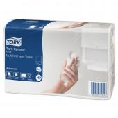 """Полотенца бумажные для держателей """"Tork"""" Adv Н2 2сл 190л*20пач/уп 471135"""