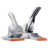 Дырокол на 65 л, Rapid Fashion Hdc65, серебристый/оранжевый