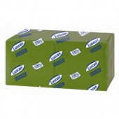 Салфетки Luscan Profi Pack 1сл.24х24 зеленые 400шт./уп..