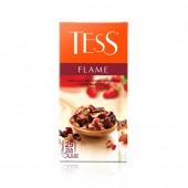 Чай травяной Tess Flame фруктовый 25пак