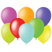 Воздушные шары, 100шт, М9/23см, пастель, ассорти