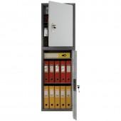 Шкаф бухгалтерский SL-150/2T, 1490*460*340, ключевой замок